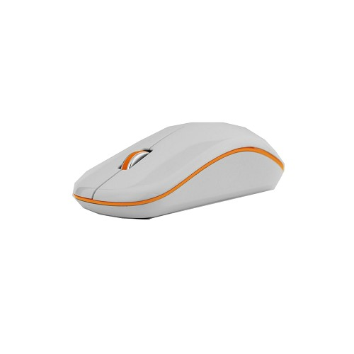 MICROPACK Optical Mouse [MP-770] - White/Orange - Mouse Basic